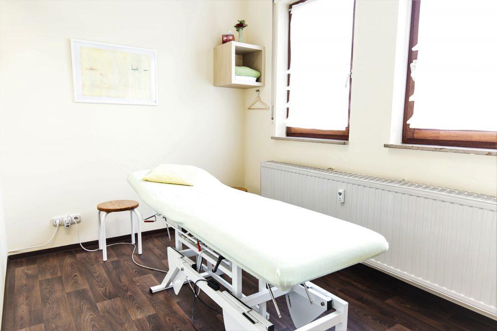 Physiotherapie Eckental Behandlungsraum